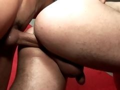 Tempting brunette twinks Kaike Brito And Luiggi Knowles sucking their massive schlongs