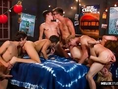 Party Wave - Young boys Tyler Hill, Max Carter, Kyle Ross, Evan Parker, Blake Mitchell and Joey Mills